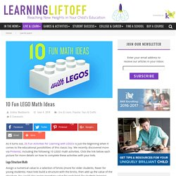 10 Fun LEGO Math Ideas - Learning Liftoff