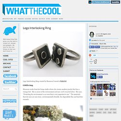 Lego Interlocking Ring | WHATTHECOOL