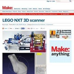 Online : LEGO NXT 3D scanner