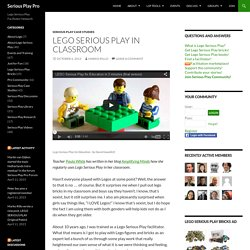 Lego Serious Play in Classroom