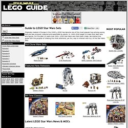 LEGO Star Wars Sets : LEGO Star Wars Toys