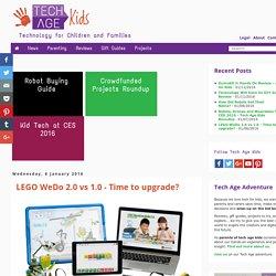 LEGO WeDo 2.0 vs 1.0 - Time to upgrade?