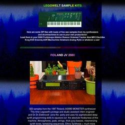 Legowelt Samplezzz