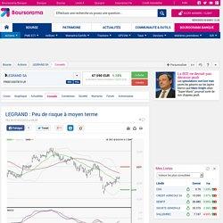 LEGRAND : Peu de risque à moyen terme