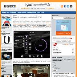 Legrand : piloter votre maison depuis l'iPad