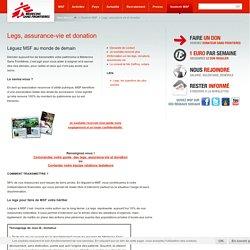 Legs, assurance-vie et donation - Legs, assurance-vie et donation
