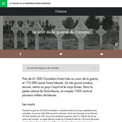 Legs - Le coût de la guerre du Canada