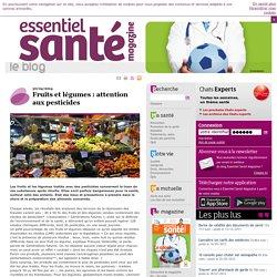 Fruits et légumes : attention aux pesticides