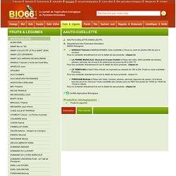 Fruits & Légumes - AAUTO-CUEILLETTE - BIO66, Consommer bio en pays Catalan