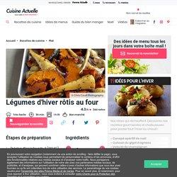 Légumes d'hiver rôtis au four facile