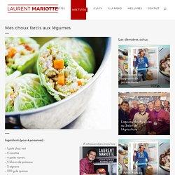 Mes choux farcis aux légumes - Laurent Mariotte