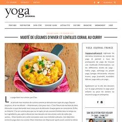 Mijoté de légumes d'hiver et lentilles corail au curry - Yoga journal France