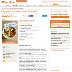 Légumes nouveaux sucrés-salés : Recette de Légumes nouveaux sucrés-salés