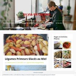 Légumes Primeurs Glacés au Miel