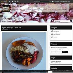 légumes rôtis au four - version hiver