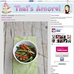 Légumes sautés à la Thaï