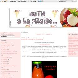 07. Légumes - Coulis de tomates… - Le crumble aux… - Chou rouge cuit à… - Flan d'endives - Radis noir aux… - Nath à la fraise