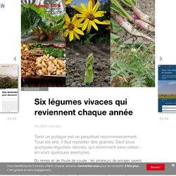 Six légumes vivaces qui reviennent chaque année - Edition du soir Ouest France - 10/06/2016