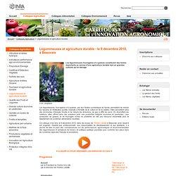 INRA 2010 Actes et vidéos présentés à l'occasion du colloque du 9 décembre 2010 'Légumineuses et agriculture durable',