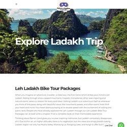 Leh Bike Trip Packages 2021