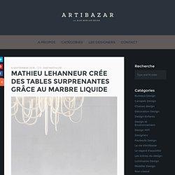 Artibazar- blog mobilier design.