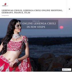 Buy Online Lehenga Choli in Few Steps