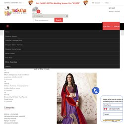 What Lehengas you must wear for an auspicious betrothal event