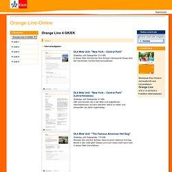 Ernst Klett Verlag - Orange Line - Lehrwerk Online - Orange Line-Online - Schulbücher, Lehrmaterialien und Lernmaterialien