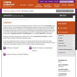 Leipzig studieren!