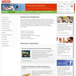 Deutsch als Fremdsprache Lehrwerksübersicht DaF-Portal