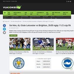 Soi kèo, dự đoán Leicester vs Brighton, 2h30 ngày 11/2 cúp FA