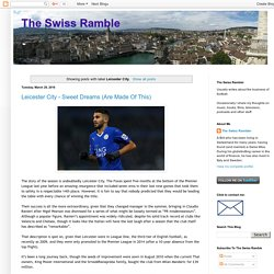 The Swiss Ramble: Leicester City