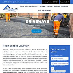Resin Bonded Driveway: Boosts Your Property's Value