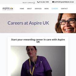 Rewarding Careers at Aspire UK