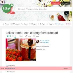 Leilas tomat- och citrongräsmarmelad