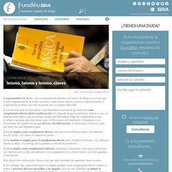 leísmo, laísmo y loísmo, claves