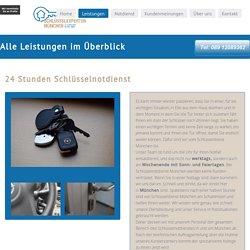 Ihre Münchener 24h Schlüsselexperten