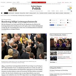 Für Presseverlage: Bundestag billigt Leistungsschutzrecht