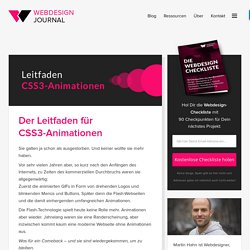 Der Leitfaden für CSS3-Animationen - Webdesign Journal