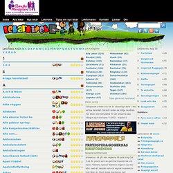 1999 - 2013 Din lekplats på nätet! - Lekindex