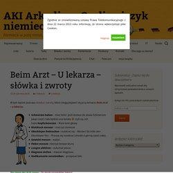 AKI Arkadiusz Gerlic - język niemiecki