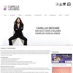 Lektion 1-Hantverket – Camilla Läckberg