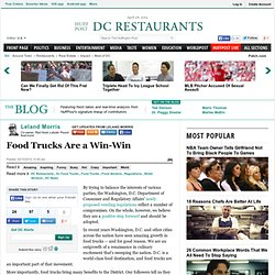 Leland Morris: Food Trucks Are a Win-Win