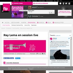 Ray Lema en session live - Club Jazzafip 2018