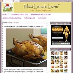 Rosemary and Lemon Roasted Chicken 迷迭香柠檬烤鸡