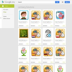 Apps by Lemberg Solutions - Google Play