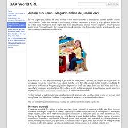 Jucării din Lemn - Magazin online de jucării 2020 - UAK World SRL