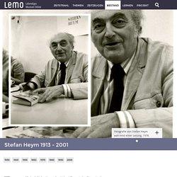 LeMO Biografie Stefan Heym