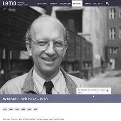 LeMO Biografie Werner Finck