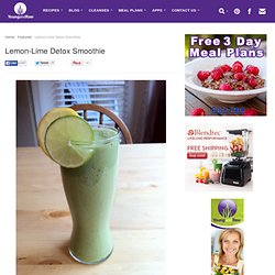 Lemon-Lime Detox Smoothie | Young and Raw